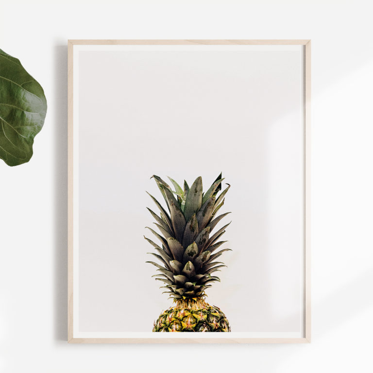 tropical-pineapple-free-wall-art